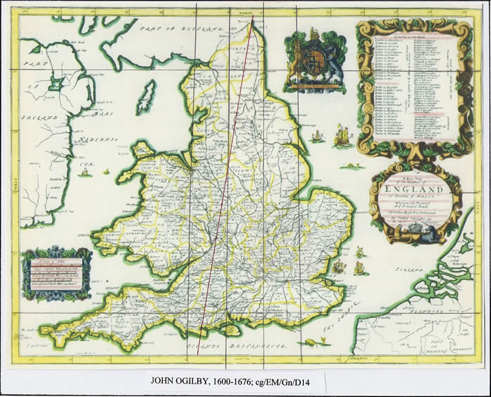 Map Of England 1600.English Maps From C1300 To C1760 Peculiarities Latitude Longitude